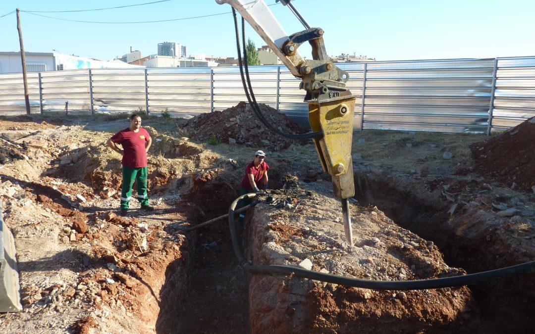 Excavación selectiva – Terrassa